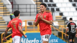 Gonçalo Ramos no ataque à Taça de Portugal