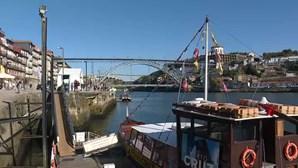 Corpo resgatado do rio Douro junto à Ribeira do Porto