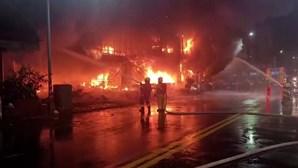 Incêndio em Taiwan já provocou 46 mortos e 41 feridos