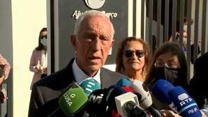 """""""A faca e o queijo estão nas mãos dos partidos, eles que escolham"""", afirma Marcelo"""