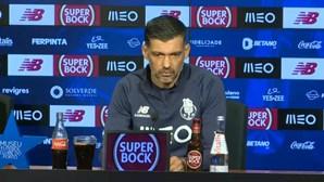 """Sérgio Conceição garante """"foco"""" total para o jogo com o Sintrense"""