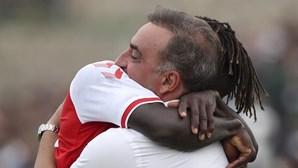 Roger dedicou ao falecido pai o primeiro golo pela equipa principal do Sp. Braga