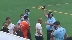 IGAI abre inquérito à atuação da PSP no final do jogo de futebol no Montijo