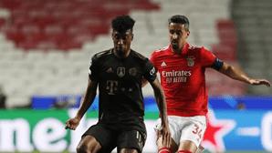 Bayern de Munique goleia Benfica com quatro golos em menos de 20 minutos na Luz