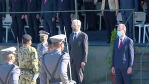 Ministro da Defesa e Chefe do Estado Maior do Exército vaiados por centenas de ex-paraquedistas