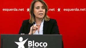 """Catarina Martins afirma que Governo """"talvez queira"""" uma crise política"""