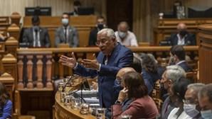 """António Costa sobre eleições antecipadas: """"Serei o líder do meu partido"""""""