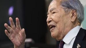 Ativista sobrevivente dos bombardeamentos atómicos de Hiroshima morre aos 96 anos