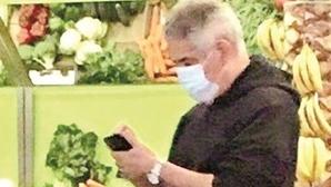Luís Filipe Vieira em tratamentos termais e passeios pelo Gerês