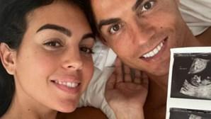 Cristiano Ronaldo vai ser pai de gémeos pela segunda vez
