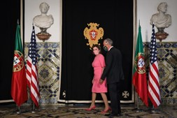 Marcelo encontra-se com Nancy Pelosi em Belém