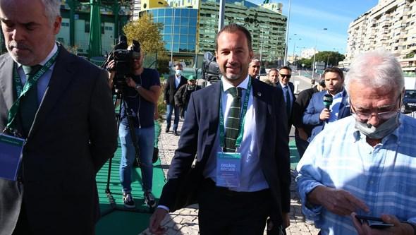 Frederico Varandas já está em Alvalade para a Assembleia Geral do Sporting