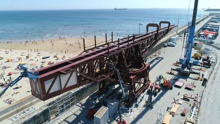 Titan do Porto de Leixões reinaugurado no próximo fim de semana