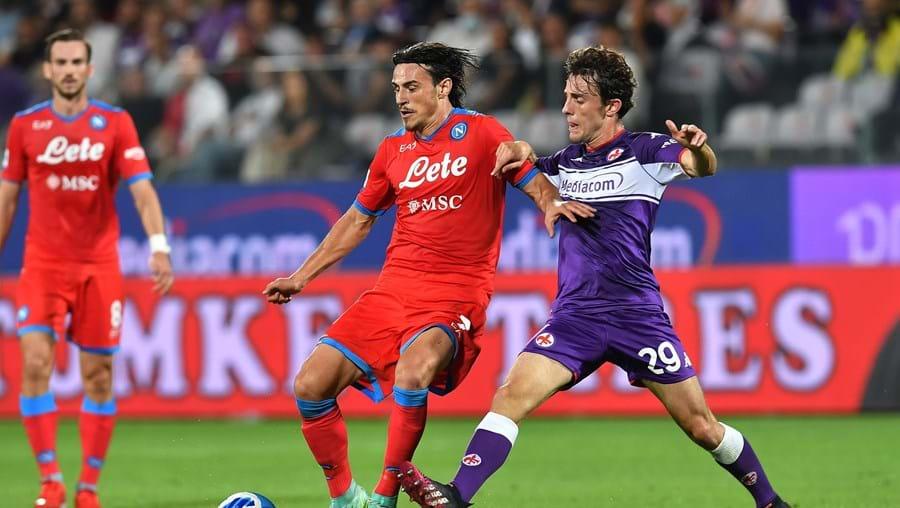 Jogo entre Nápoles e Fiorentina