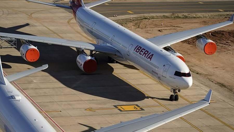 Avião da Iberia