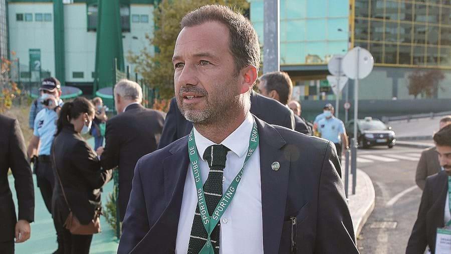 Frederico Varandas dramatizou o discurso após o chumbo das contas.