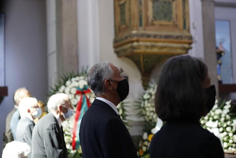 Marcelo Rebelo de Sousa no último adeus ao Padre Feytor Pinto