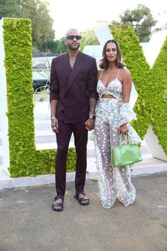 Rita Pereira e o namorado, Guillaume Lalung.