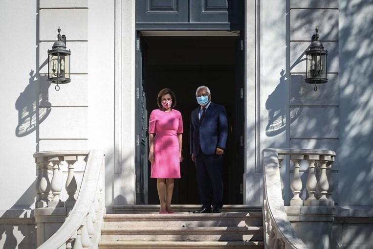 António Costa e Nancy Pelosi